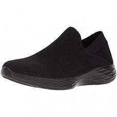 [해외] 스케쳐스 여성 스니커즈 Skechers You-14958 Sneaker - Black