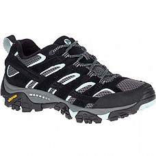 [해외] 머럴 여성 하이킹 신발 Merrell Women's Moab 2 Vent Hiking Shoe - Black Aqua