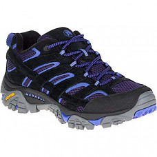 [해외] 머럴 여성 하이킹 신발 Merrell Women's Moab 2 Vent Hiking Shoe - Black/Baja