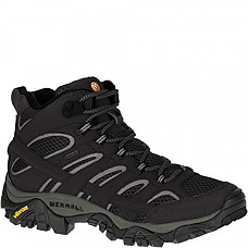 [해외] 머럴 여성 GTX 하이킹 부츠 Merrell Women's Moab 2 Mid Gtx Hiking Boot - Black