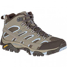 [해외] Merrell Women's Moab 2 Mid Gtx Hiking Boot - Brindle