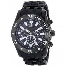 [해외] 인빅타 남성 스파이더 아날로그 시계 Invicta Men's 14862 Sea Spider Analog Japanese-Quartz Black Watch