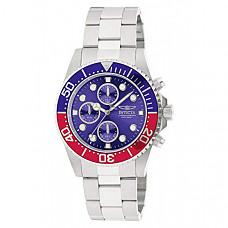 [해외] 인빅타 남성 프로다이버 시계 Invicta Men's 1771 Pro Diver Collection Stainless Steel Chronograph Watch