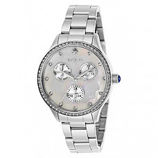 [해외] 인빅타 여성 와일드플라워 쿼츠 시계(Model: 29090) Invicta Women's Wildflower Quartz Watch with Stainless Steel Strap, Silver