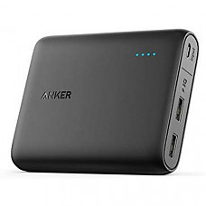 [해외] 앤커 파워코어 휴대용 충전기 Anker PowerCore 10400 Portable Charger with PowerIQ for iPhone, iPad, Samsung Galaxy and More (Black)