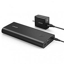 [해외] 앤커 파워코어 프리미엄 26800mAh 휴대용 충전기 Anker PowerCore+ 26800, Premium Portable Charger, High Capacity 26800mAh External Battery with Qualcomm Quick Charge 3.0 (in- and Output), Includes PowerPort+ 1 Wall Charger
