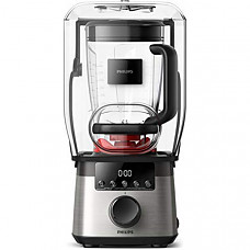 [해외] 필립스 고속파워 믹서기 HR3868/90 Philips Kitchen Appliances High Speed Power Blender with ProBlend Extreme Technology, Black and Silver