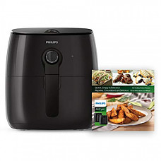 [해외] 필립스 에어프라이어 조리기 HD9721/99 Philips Kitchen Appliances  Philips Airfryer, X-Large, Black