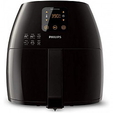 [해외] 필립스 에어프라이어 조리기  HD9240/94 Philips Starfish Technology XL Airfryer, Digital Interface, Black - 2.65lb/3.5qt