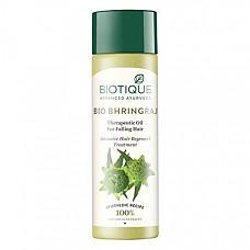 [해외] 바이오티크 헤어 오일 Biotique Botanicals Bhringraj Hair Growth ThERApeutic Oil, 4.06-Fluid Ounce