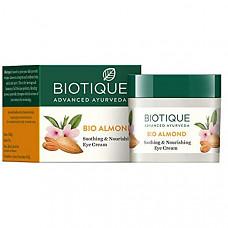 [해외] 바이오티크 아몬드 아이크림 Biotique Almond Under Eye Cream For Dark Circles & Puffiness 15 g