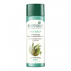 [해외] 바이오티크 헤어 컨디션너 Biotique Bio Sea Kelp Fresh growth Revitalizing Conditioner 120ml I 4.05 Oz. I Intensive Hair Growth Treatment