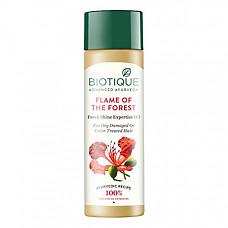 [해외] 바이오티크 헤어 오일 Biotique Flame Forest Fresh Shine Expertise Oil 120 ml