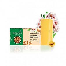 [해외] 바이오티크 아몬드 바디 비누 Biotique Bio Almond Oil Nourishing Body Soap, 150g (Pack Of 3)