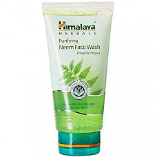 [해외] 히말라야 클린져 Himalaya Purifying Neem Face Wash with Neem and Turmeric for Occasional Acne, 5.07 oz (150 ml)