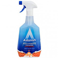 [해외] 아스토니쉬 다목적 표면세정제 스프레이(6 x 750ml/영국직배송 )Astonish Multi Surface Spray 6 x 750ml Spray (with Bleach)