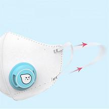 [해외] 샤오미 에어팝 어린이용 마스크(4pcs) 4pcs Xiaomi Airpop Children Mask Kid Masks PM2.5 Anti-fog Mask Protection Soft Breathable Air Wear Face Mask Boys Girls