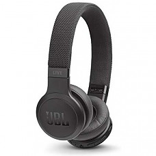 [해외] JBL Live 400BT 무선 헤드폰 On-Ear Wireless Headphones - Black