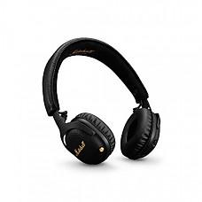 [해외] Marshall Mid ANC 능동형 소음 차단 무선 블루투스 헤드폰, Active Noise Cancelling On-Ear Wireless Bluetooth Headphone, Black (04092138)