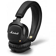 [해외] Marshall Mid 블루투스 무선 헤드폰, Bluetooth Wireless On-Ear Headphone, Black (04091742)