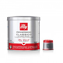 [해외] illy iperEspresso 커피 캡슐 미디어 로스트  Classico Medium Roast Espresso Pods, Compatible with illy iperEspresso Machines, 21 ct (Packaging may Vary)