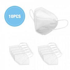 [해외] KN95 방진 마스크(10PCS) KN95 Face Masks with Elastic Ear Loop Dustproof Anti-pollution Disposable Protection