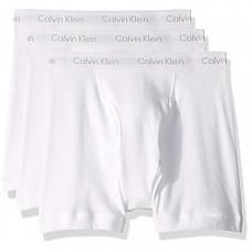 [해외] 캘빈 클라인 남성용 속옷(3pack) Calvin Klein Underwear Men's Cotton Classics 3 Pack Boxer Briefs - White