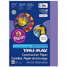 [해외] Pacon 공작종이 Tru-Ray Heavyweight Construction Paper, Violet,  9