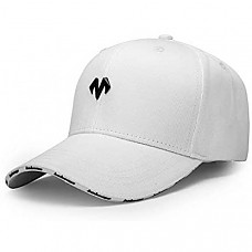 [해외] 바바마 야구 모자, 크기조절 가능 Unisex Baseball Caps Men Comfortable Sports Hat Adjustable Breathable Sun Hats Peaked Cap White