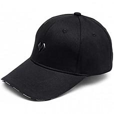 [해외] 바바마 야구 모자, 크기조절 가능 BABAMA Unisex Baseball Caps Men Comfortable Sports Hat Adjustable Breathable Sun Hats Peaked Cap Black