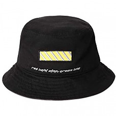[해외] 바바마 버컷 모자 BABAMA Unisex Bucket Hats Crushable Cotton Fisherman Caps Women Brim Fedora Unisex Sun Black
