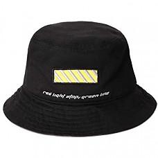 [해외] 바바마 버컷 모자 BABAMA Unisex Bucket Hats Crushable Cotton Fisherman Caps Women Brim Fedora Unisex Sun Black