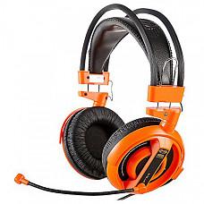 [해외] E블루 전문가용 게이밍 헤드셋, E-Blue Cobra Series Professional Gaming Headset, (Orange)