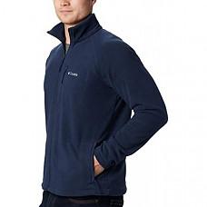[해외] 컬럼비아(Columbia) 남성 지퍼 플리스 재킷(Collegiate Navy/영국내수용) Columbia Men's Full Zip Fleece Jacket, Fast Trek II - Collegiate Navy