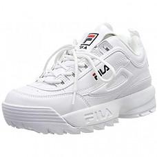 [해외] 필라(Fila) 여성용 디스트리뷰터 로우 트레이너 스니커즈(White/독일내수용) Fila Damen Disruptor Low Wmn Sneaker