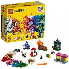 [해외] LEGO 레고 클래식 11004 윈도우 빌딩 키트(450 조각) LEGO Classic Windows of Creativity 11004 Building Kit (450 Pieces)