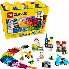 [해외] LEGO 레고 클래식 대형 크리에이티브 브릭 박스 10698 (790개/독일배송) LEGO Classic Large Creative Brick Box 10698 Build Your Own Creative Toys, Kids Building Kit (790 Pieces)