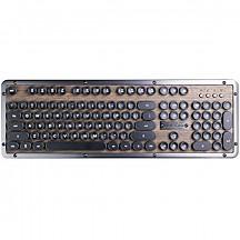 [해외] Azio 아리조 레트로 키보드 Retro Classic - Luxury Vintage Backlit Mechanical Keyboard
