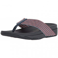[해외] 핏플랍 여성 샌들 FitFlop Women's Surfa Flip-Flop - Midnight Navy Mix