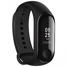 [해외] 샤오미 미니 밴드 3 OLED 디스플레이 방식, 운동, 방수, 심장박동수 모니터링 Xiaomi Mi Band 3 Fitness Tracker 50m Waterproof Smart Band Smartband OLED Display Touchpad Heart Rate Monitor Wristbands Bracelet, Black
