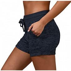 [해외] 90 Degree By Reflex 여성용 아웃도어 포켓 라운지 쇼츠 반바지 Soft and Comfy Activewear Lounge Shorts with Pockets and Drawstring for Women