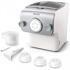 [해외] 필립스 파스타(제면기) 제조기(HR2375/05-독일내수용 220V사용 가능) Philips HR2375/05 – Fresh Pasta Making Machine