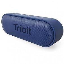 [해외] 트리비트 아웃도어 방수 블루투스 스피커(24시간 사용가능)Tribit XSound Go Bluetooth Speakers - 12W Portable Speaker Loud Stereo Sound, Rich Bass, IPX7 Waterproof,24 Hour Playtime, 66 ft Bluetooth Range & Built-in Mic Outdoor Wireless Speaker (Blue)