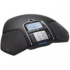 [해외] Konftel 무선 회의용 스피커폰(녹음기능포함-SD메모리카드 별도)300wx Wireless Conference Phone, Black