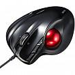 [해외] 산화 레이저 마우스(일본직배송) SANWA Laser trackball Mouse(MA-TB44BKN/Black)