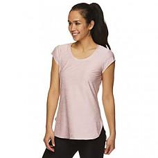 [해외] Reebok 리복 여성 운동용 티셔츠 Womens Legend Running & Gym T-Shirt - Performance Short Sleeve Workout Clothes for Women(Legend Top Zephyr Heather)