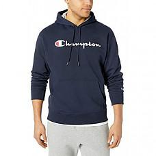 [해외] 챔피온 남성 플리스 후드티 Champion Mens Graphic Powerblend Fleece Hoodie Script Sweatshirt