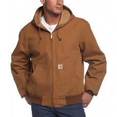 [해외] 칼하트 남성 써멀 라인 덕 액티브 후드집업 자켓( J131) Carhartt Men's Thermal-Lined Duck Active Hoodie Jacket
