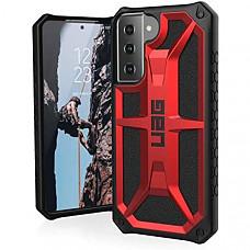 [해외] 유에이지 삼성 갤럭시 S21 5G 핸드폰 모나크 보호 케이스 URBAN ARMOR GEAR UAG Designed for Samsung Galaxy S21 5G Case [6.2-inch screen] Rugged Lightweight Slim Shockproof Premium Monarch Protective Cover